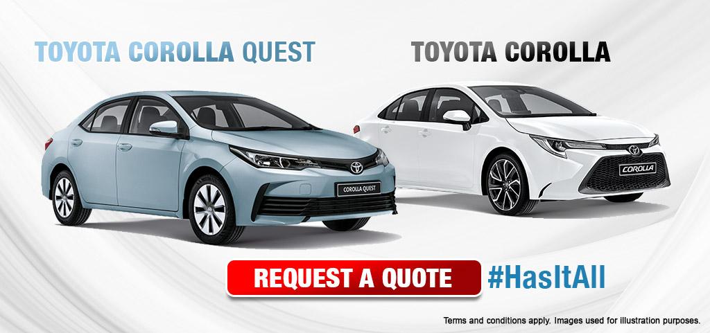 Toyota Corolla And Corolla Quest