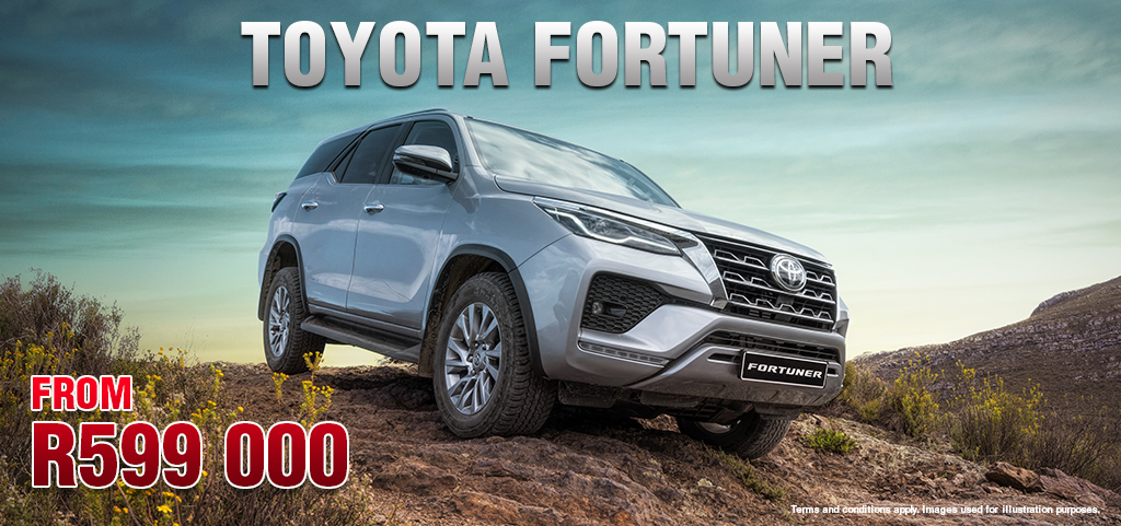 Toyota Fortuner From R599 000