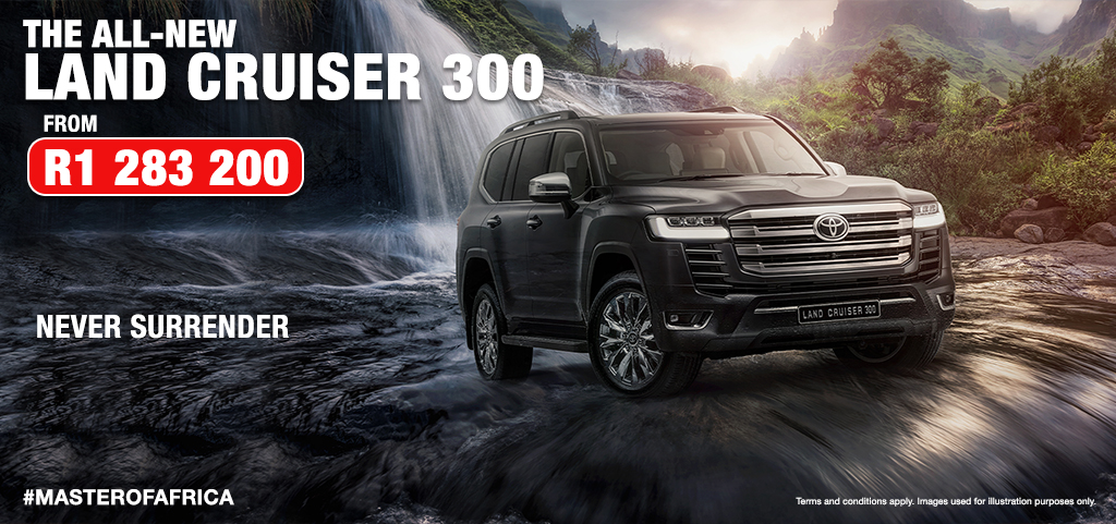 The All New Land Cruiser 300