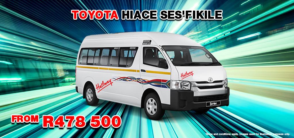 Toyota Hiace Sesfikile From R478 500