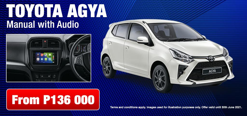 Toyota Agya Manual With Audio