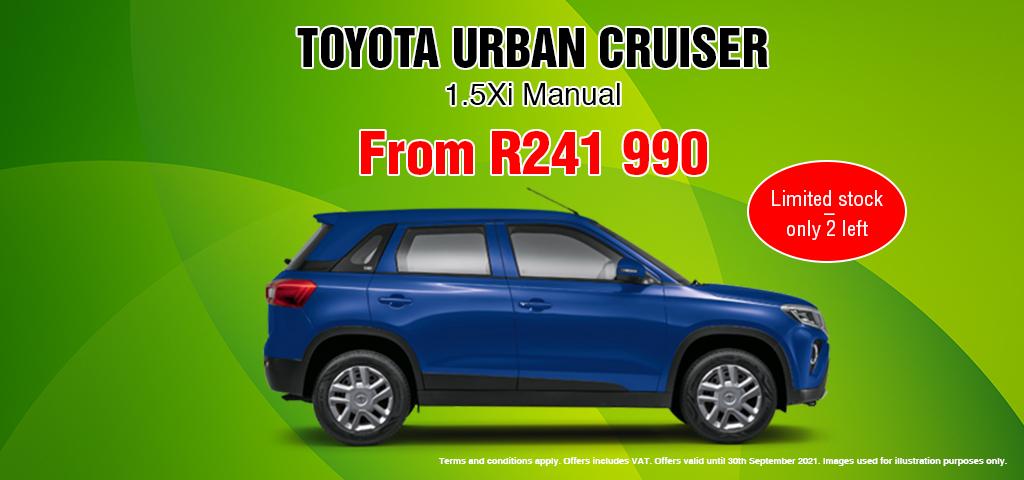 Urban Cruiser 15 Xi Manual