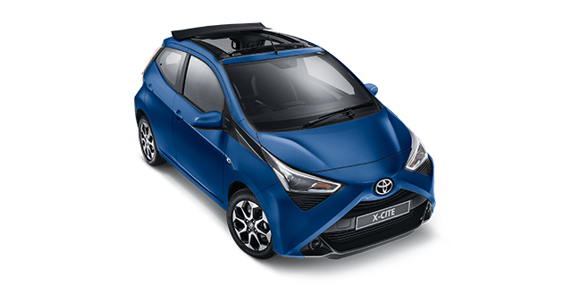 Passenger Aygo X-Cite (Black Roof)