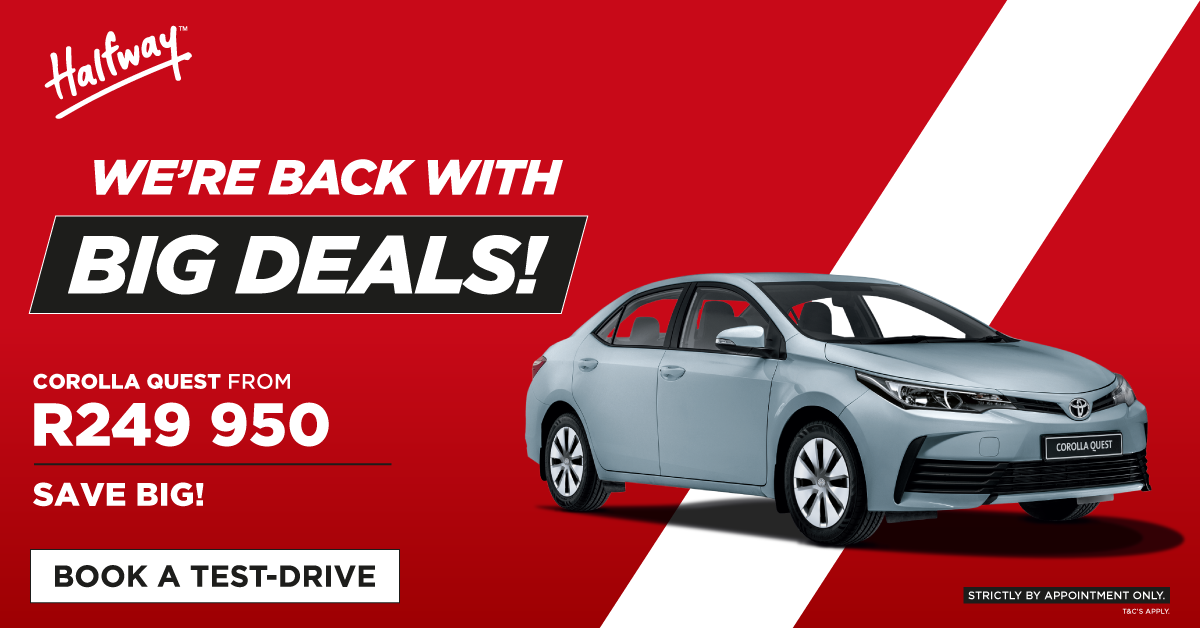 Big Deals   Corolla Quest