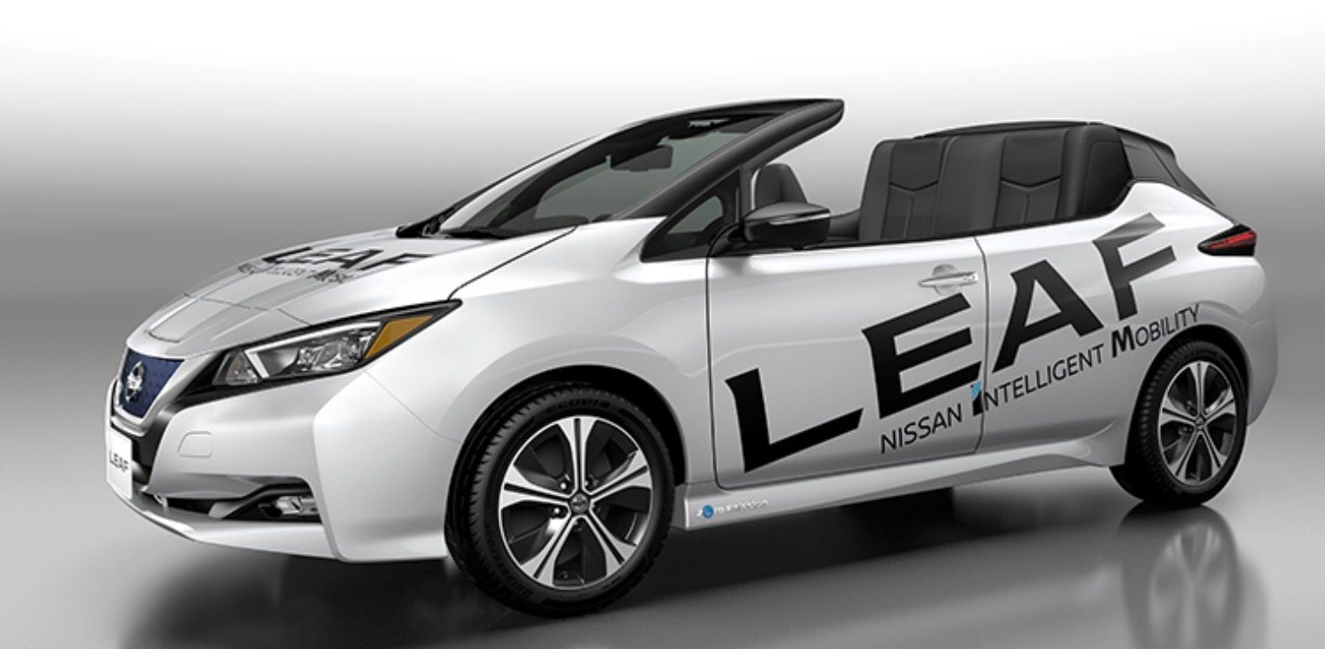 Nissan Debuts New Open-Air Nissan LEAF