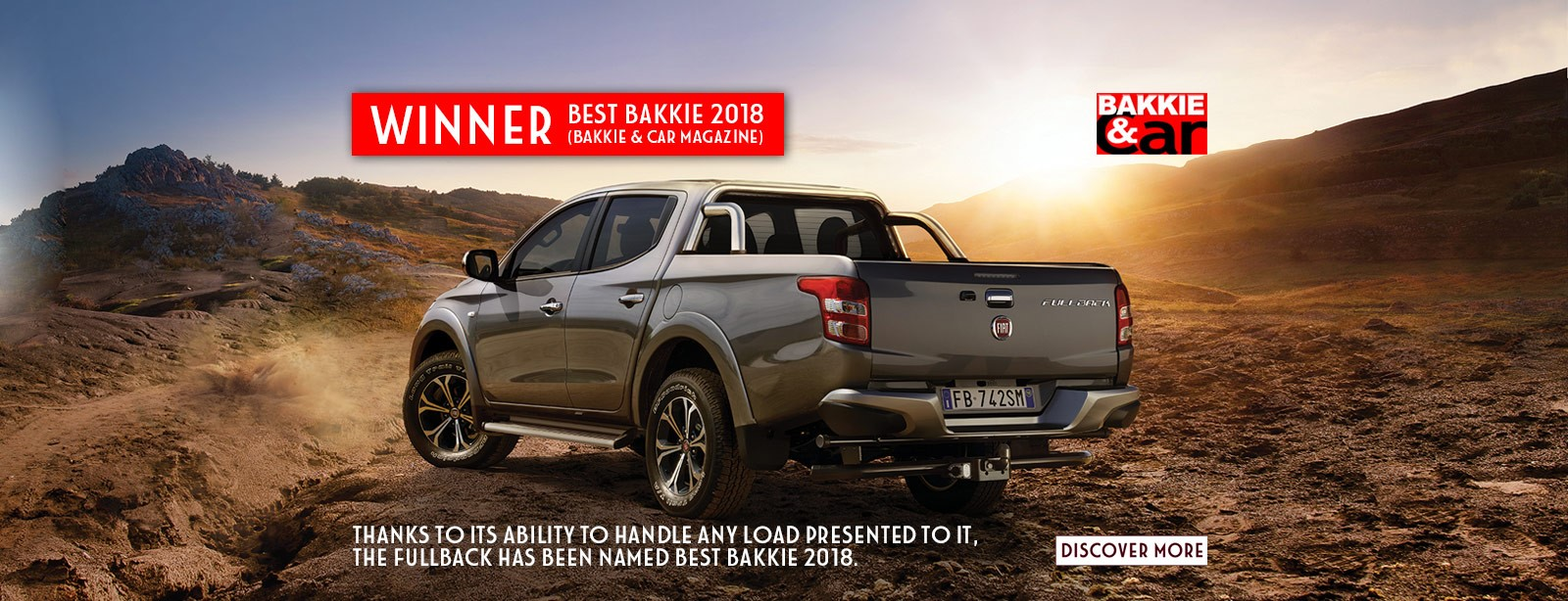 The New Fiat Fullback: 2018 Best Bakkie WINNER!