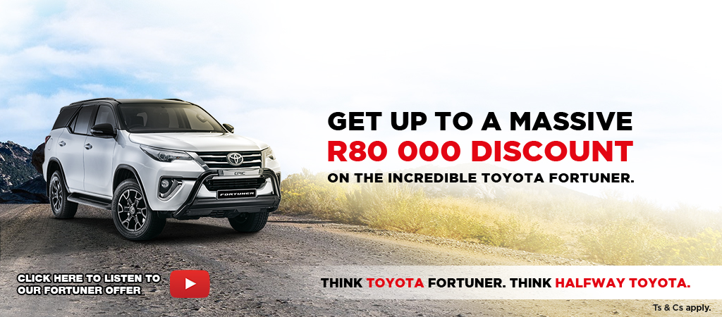 Think Toyota Fortuner Think Halfway Toyota