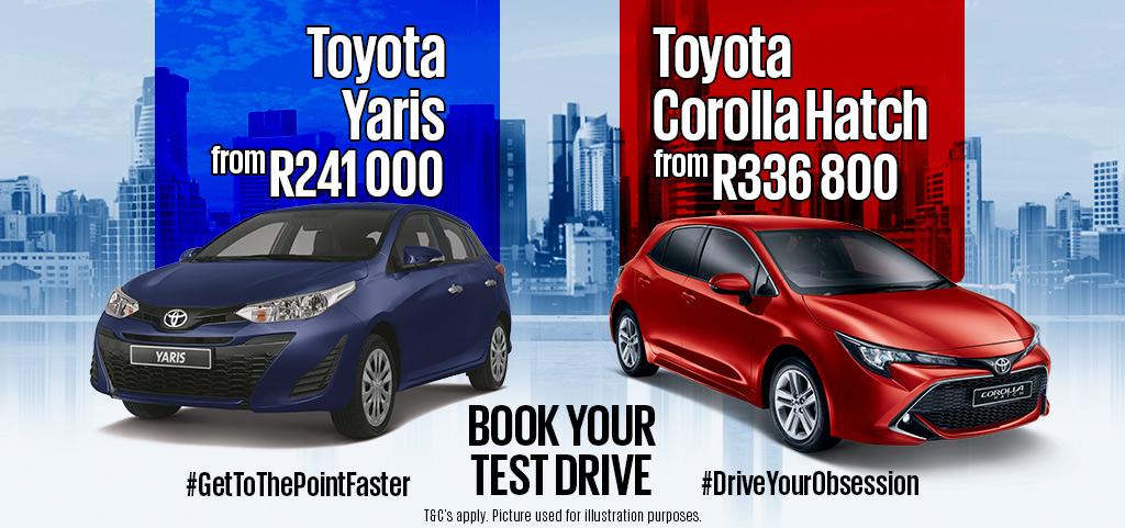 Toyota Corolla Hatch And Toyota Yaris