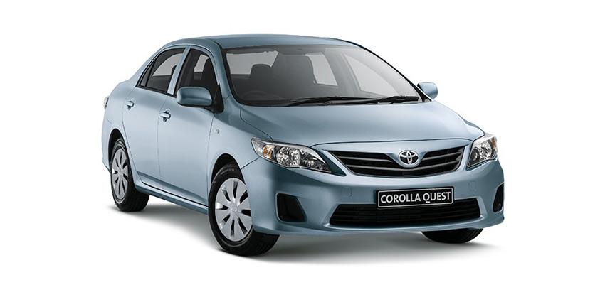 Passenger Corolla Quest 1.6