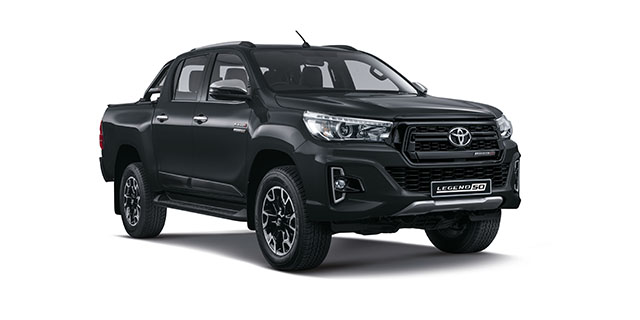 Commercial Hilux Legend 50 DC 2 8 GD-6 RB LEGEND 50 6AT