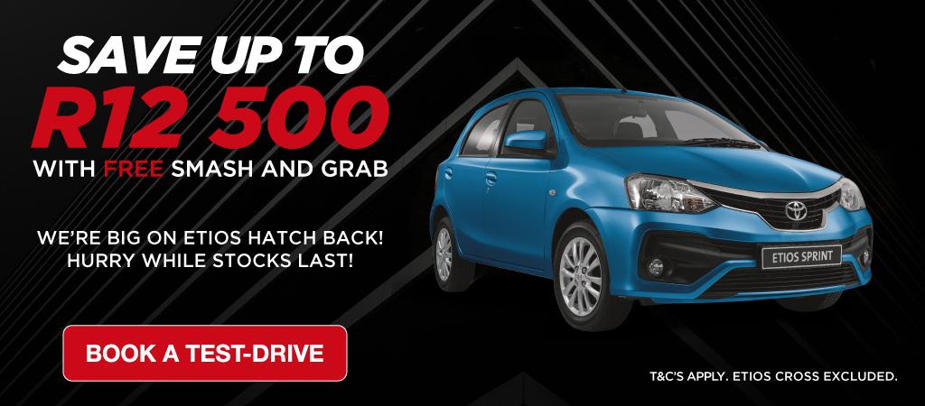 Toyota Etios Save Big