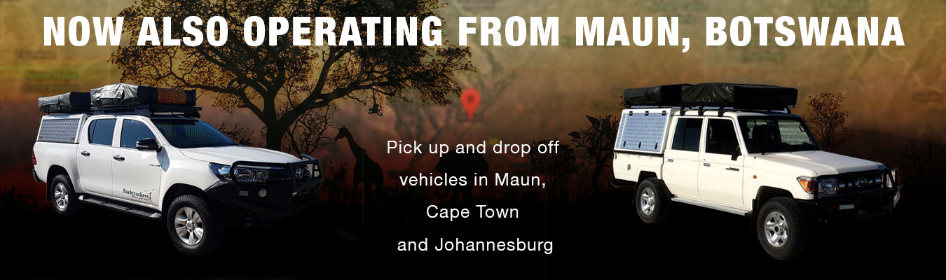 Now also operating from Maun