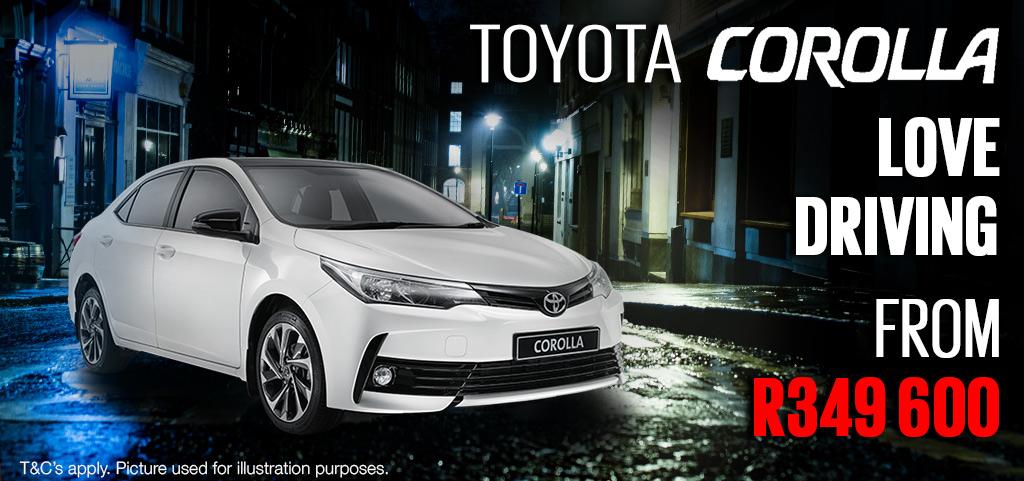 Toyota Corolla Special Edition 16 Prestige Plus Cvt