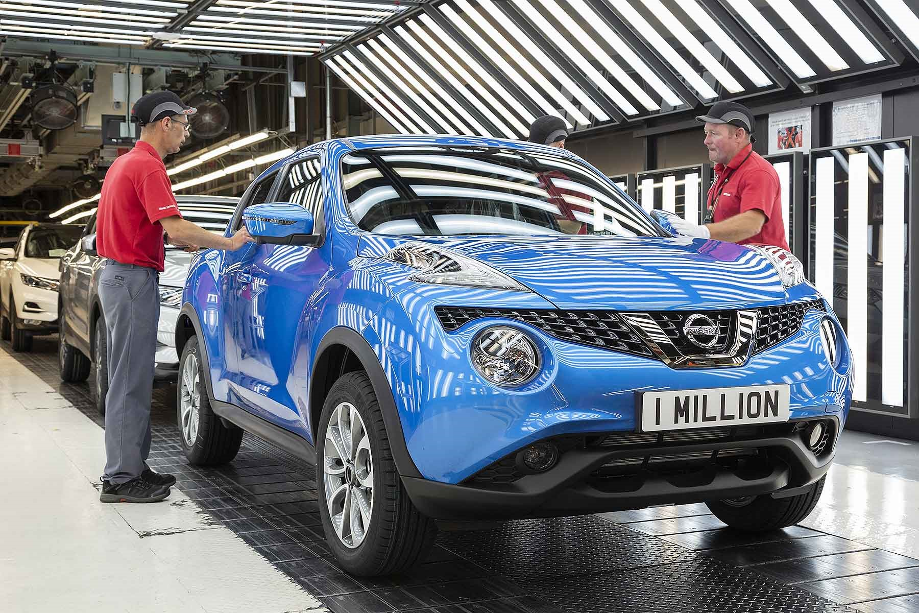 One millionth Juke Built at Nissan Sunderland 3