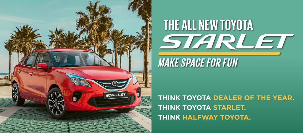 The Toyota Starlet Makes Space For Fun