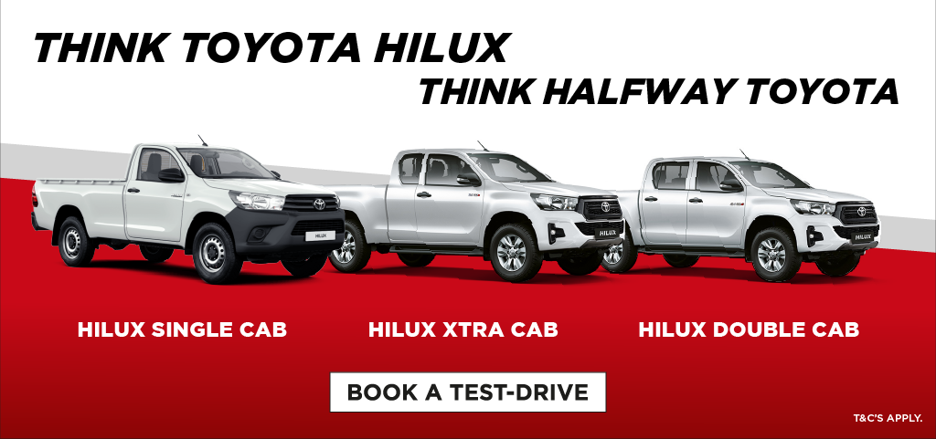 Think Toyota Hilux Think Halfway Toyota