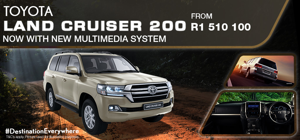Toyota Land Cruiser 200   New Release 10 January 2020