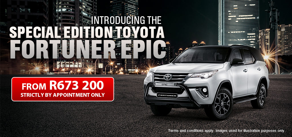 Fortuner Epic New Release   01 04 2020