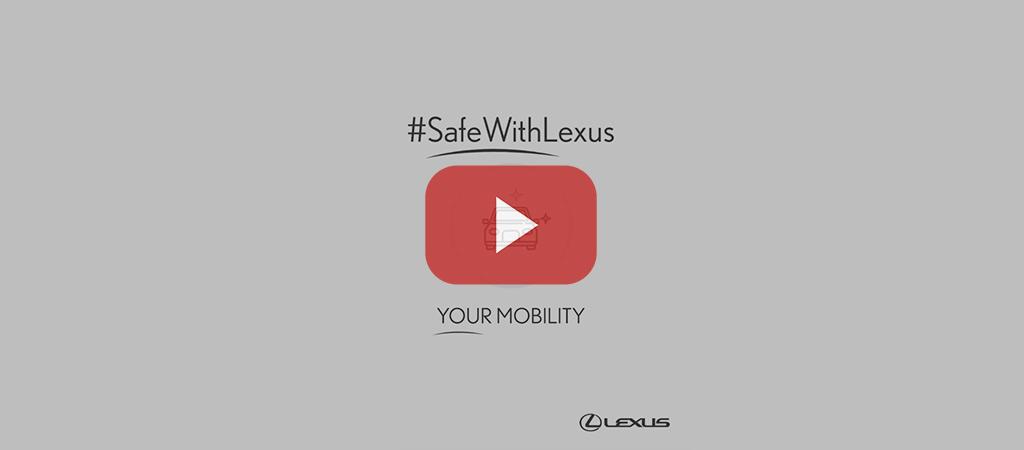 Safe With Lexus Video Service Slide 1