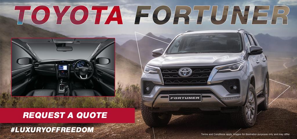 Toyota Fortuner Luxury Of Freedom