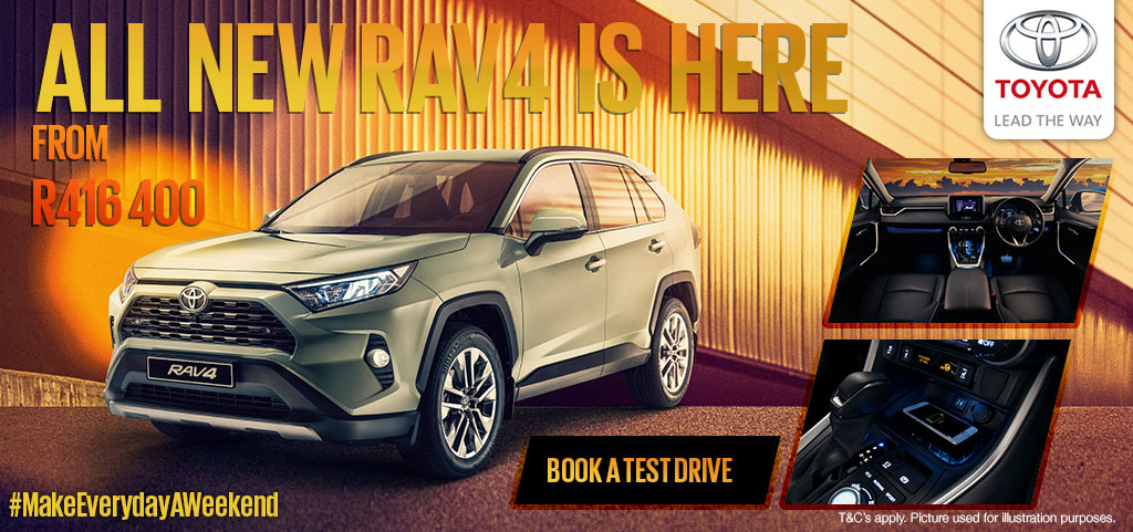 The All New Rav4 Is Here