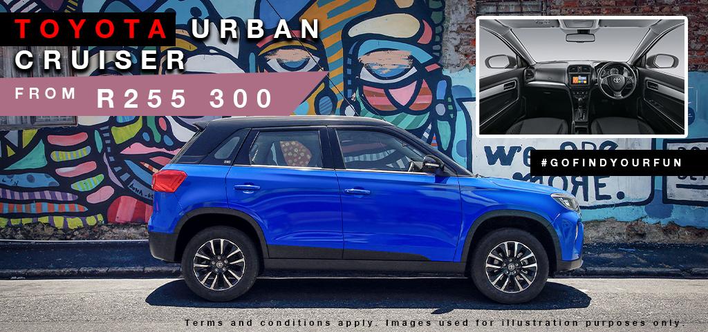 All New Toyota Urban Cruiser