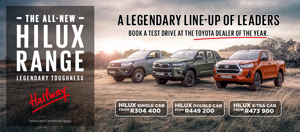 Hilux Legendary Line Up Of Leaders
