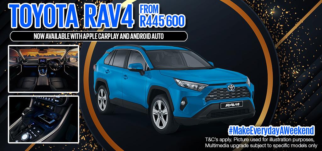 Toyota Rav4 New Release   06/04/2020