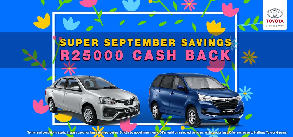 Super September Savings