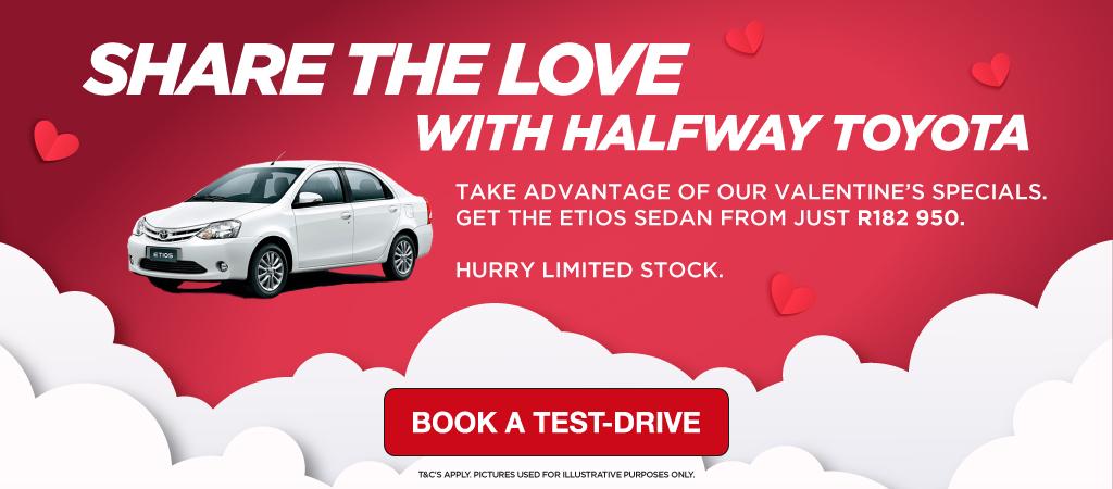 Share The Love With Halfway Toyota   Etios Sedan