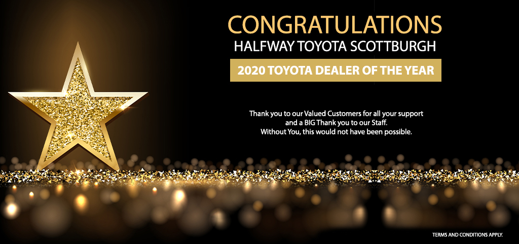 2020 Toyota Dealer Of The Year