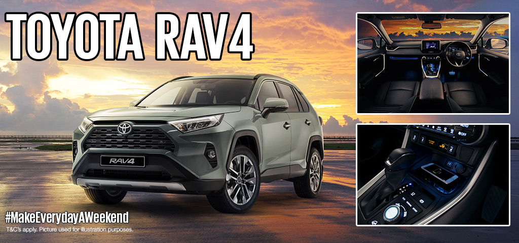 The All New Rav4 Is Here Ngami