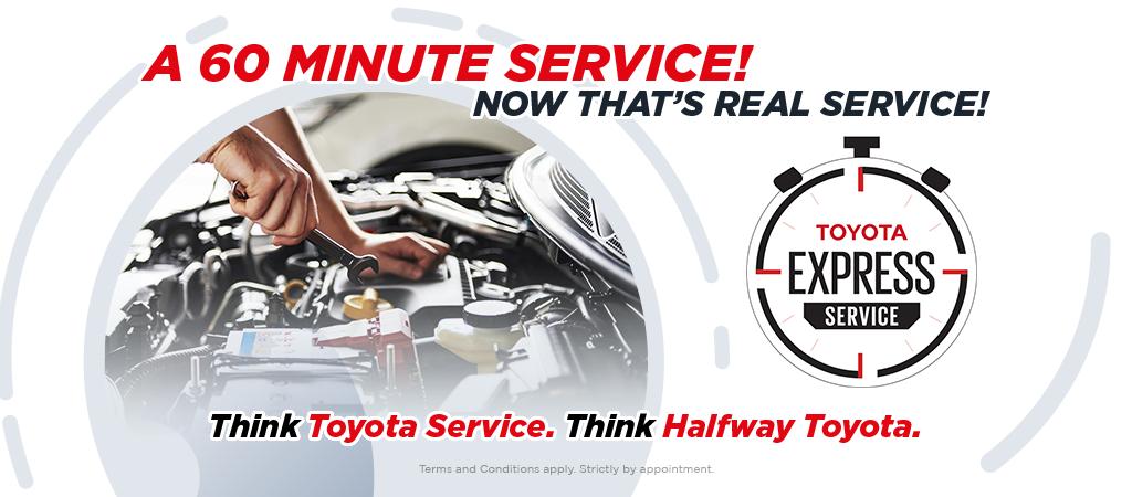 60 Minute Service