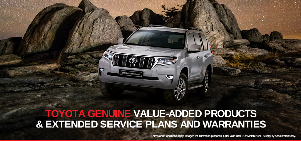 Toyota Genuine Value Added Products