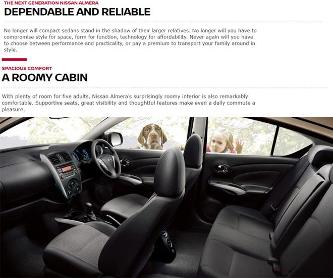 Interior Nissan Almera