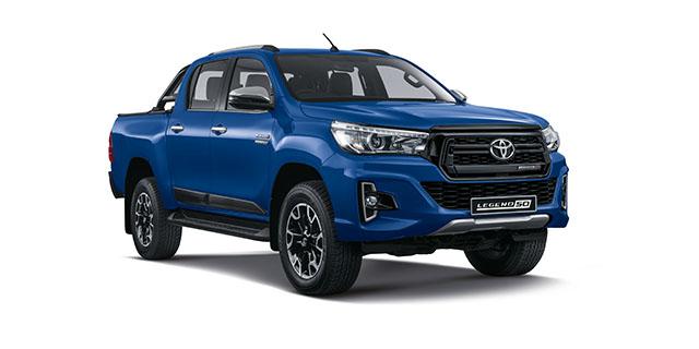 Commercial Hilux Legend DC 2 8 GD-6 RB LEGEND 6AT