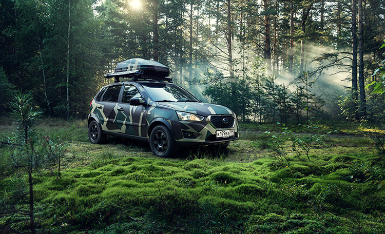Datsun mi-DO Show Car Revealed for Outdoor Enthusiasts