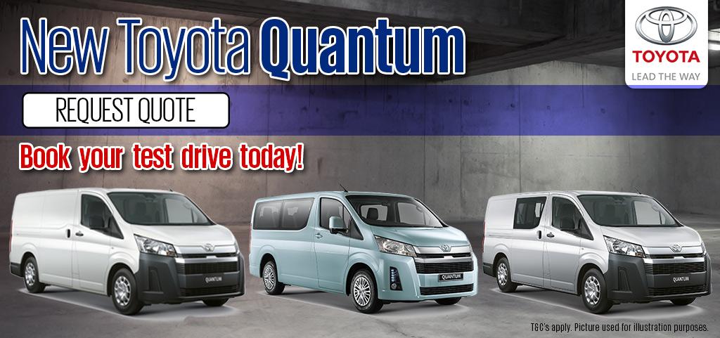 New Toyota Quantum