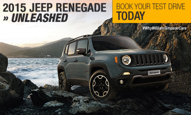 The all New 2015 Jeep Renegade