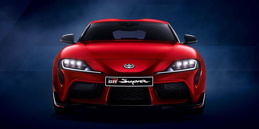 Passenger Supra GR Supra (Red)