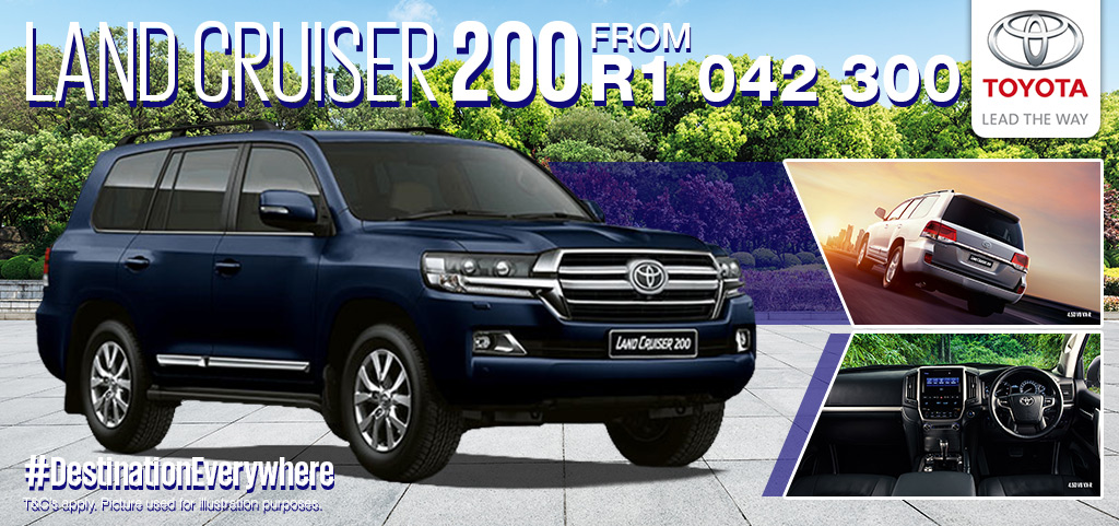 Toyota Land Cruiser Lc200