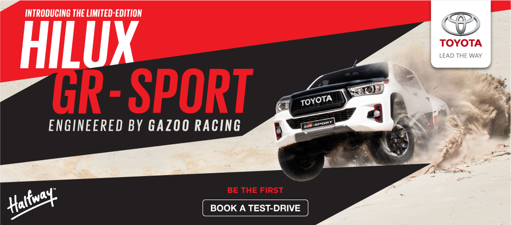 Introducing The Limited Edition Hilux Gr Sport