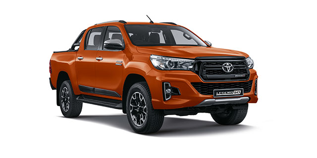 Commercial Hilux Legend DC 2.8 GD-6 4x4 LEGEND AT