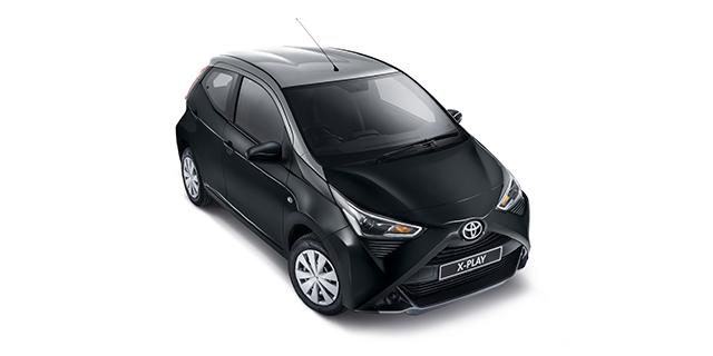 Passenger Aygo X-Play Silver