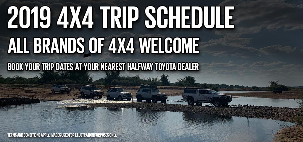 2019 4x4 Trips By Halfway Toyota