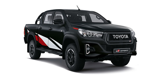 Commercial Hilux GR-Sport NEW DC 2.8 GD-6 4x4 GR-S 6AT