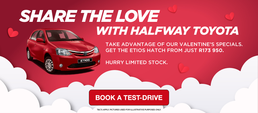 Share The Love With Halfway Toyota   Etios Hatch