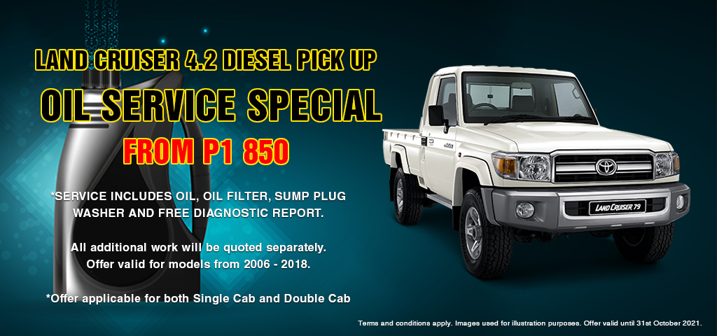 Land Cruiser 42 Oil Service Special