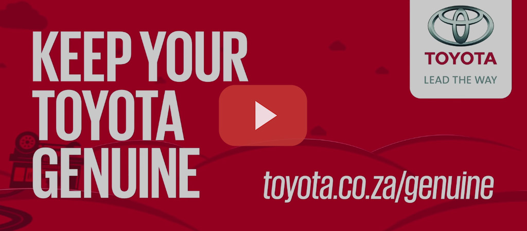 Keep Your Toyota Genuine Parts Slide 7