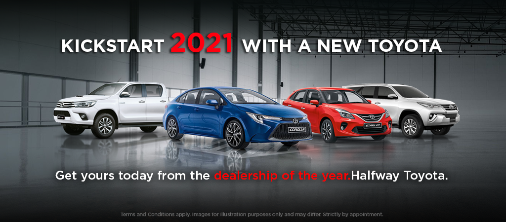 Kickstart 2021 With A New Toyota